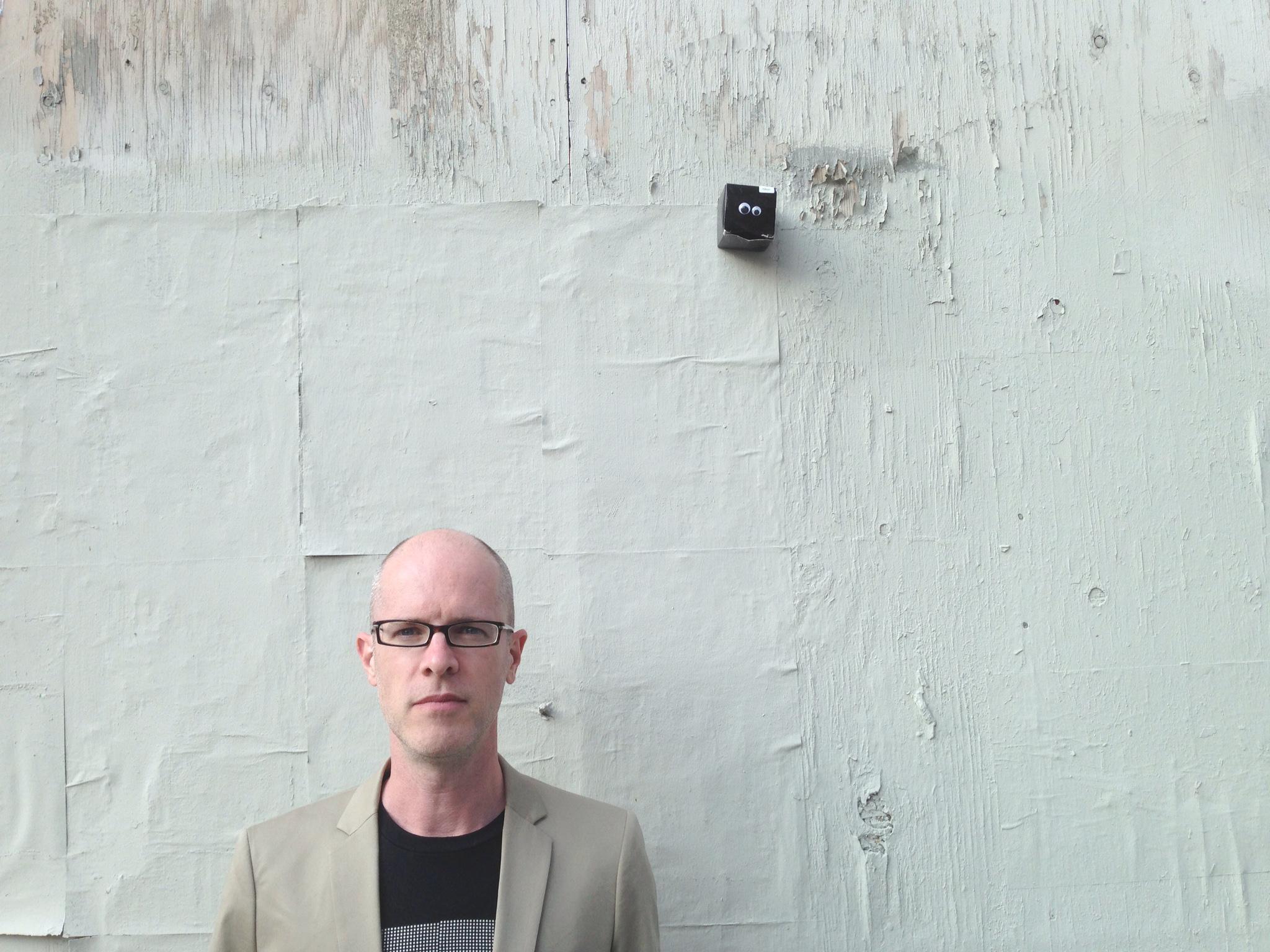 Richard Chartier, 2013. Photo credit: Robert Eckhardt