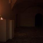 Thomas Köner, Museum view, 2015, lux 02: Topografia Del Vuoto – Thomas Köner, 2015, Museolaboratorio - Città Sant'Angelo - Italy. Photo Credit: Marco Marzuoli.